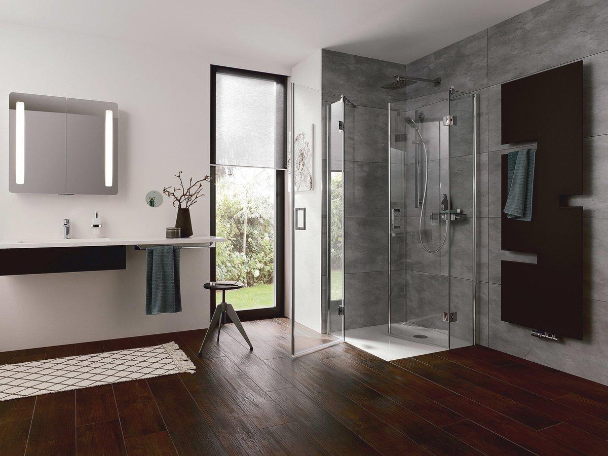 Platzsparende Duschen Für Kleine Bäder Bretten