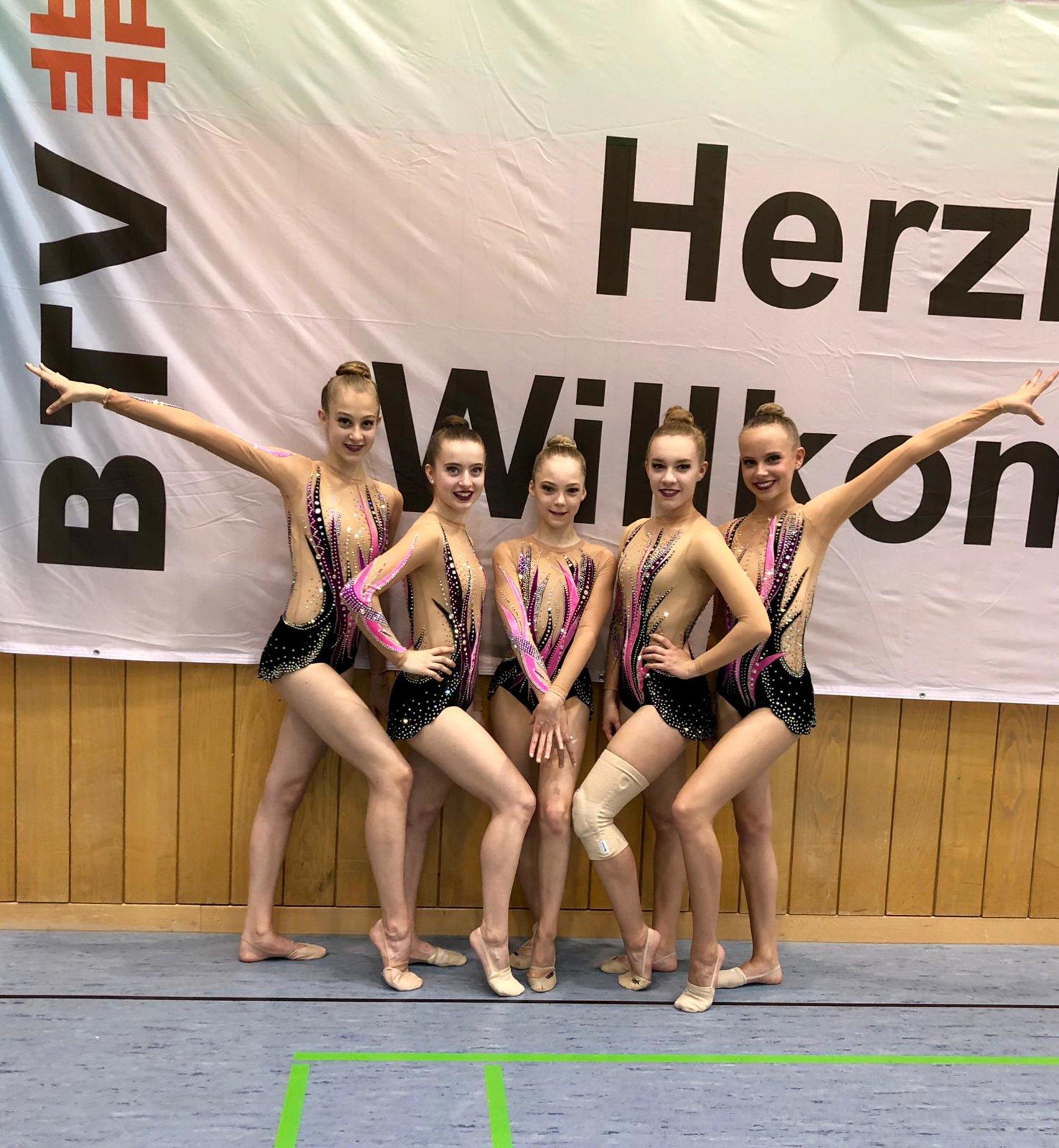Rhythmische Sportgymnastik: Deutsche Meisterschaften Gruppen Meisterklasse der Rhythmischen Sportgymnastik in - kraichgau.news
