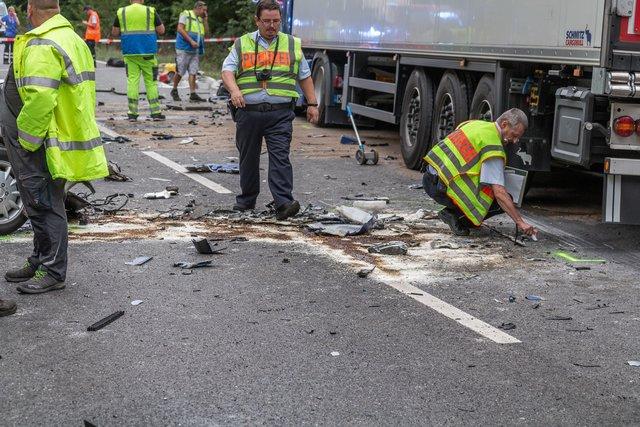 Unfall Graben Neudorf