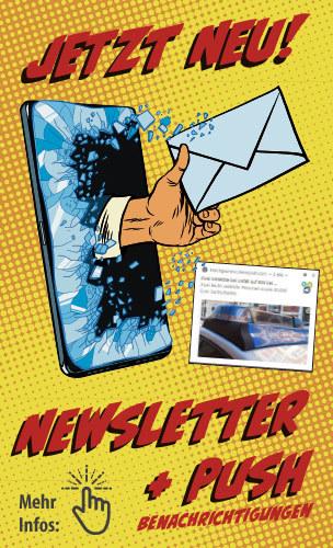 Newsletter und Push Benachrichtigungen