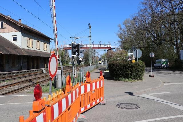 Bahnübergang Gondelsheim