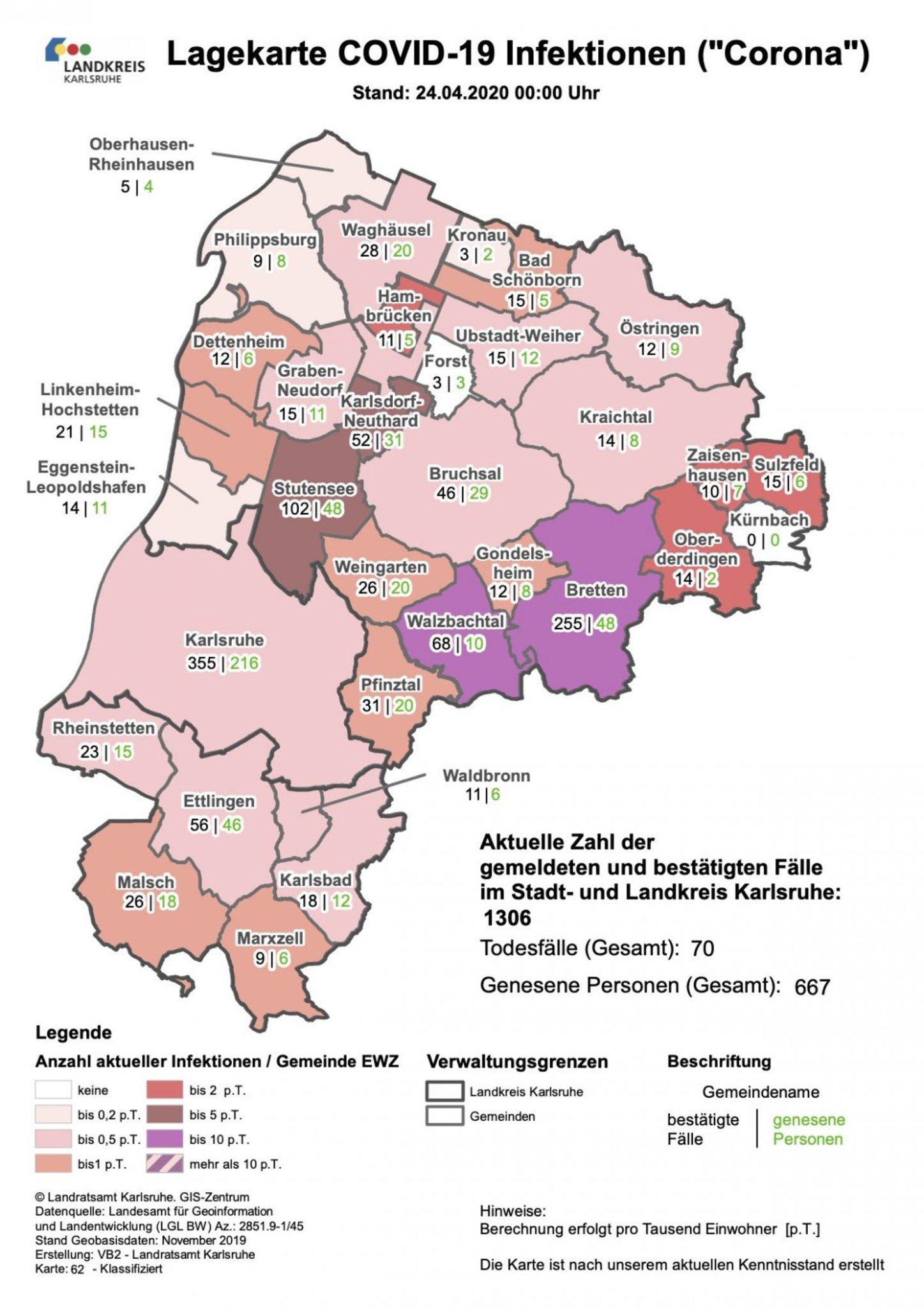 Landkreis Karlsruhe Corona