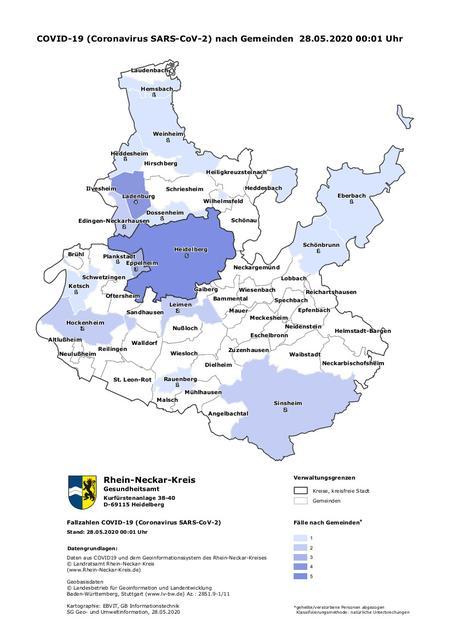 Fallzahlen Kreis Karlsruhe