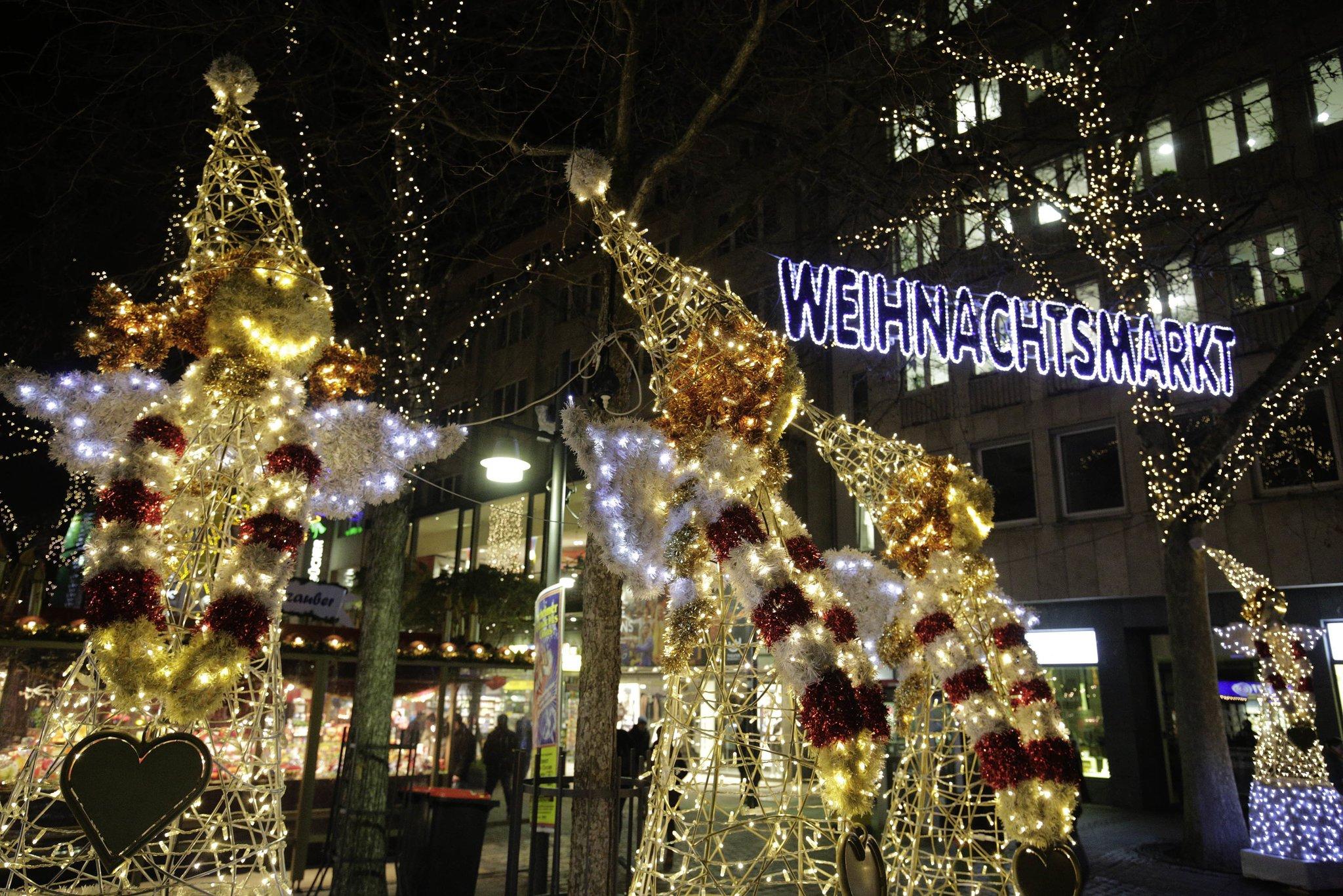 Pforzheimer Weihnachtsmarkt.Weihnachtszauber In Der Goldstadt Pforzheim